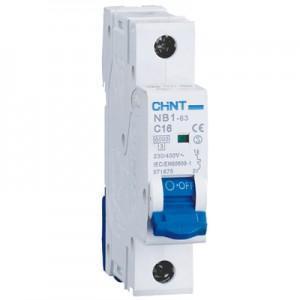 Chint Johdonsuojakatkaisija NB1H-63 1B 16A 10kA