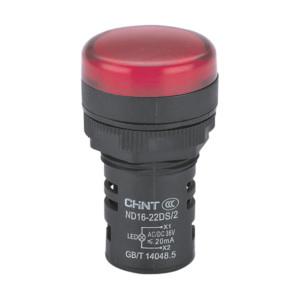 Chint Merkkivalo LED, 22 mm reikään, 230V, AC, punainen
