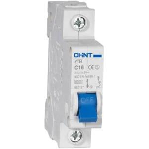 Chint Circuit breaker EB, 1-N, C10A, 4.5kA