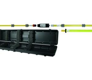PHE3 Jänniteenkoetinpaketti sisä- ja ulkokäyttöön. Valo- ja ääni-ilmaisu, 60.... 110 kV / 50 Hz